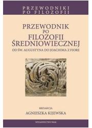 Przewodnik po filozofii średniowiecznej. - okładka książki