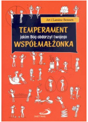 Temperament jakim Bóg obdarzył - okładka książki