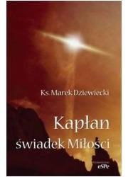 Kapłan - świadek Miłości - okładka książki