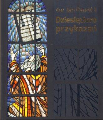 Dziesięcioro przykazań - okładka książki