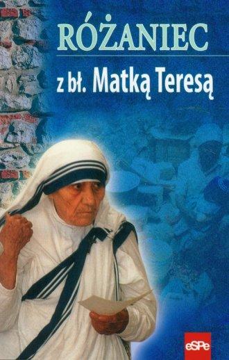 Różaniec z bł. Matką Teresą - okładka książki