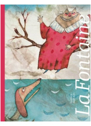Bajki La Fontaine - okładka książki