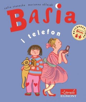 Basia i telefon - okładka książki