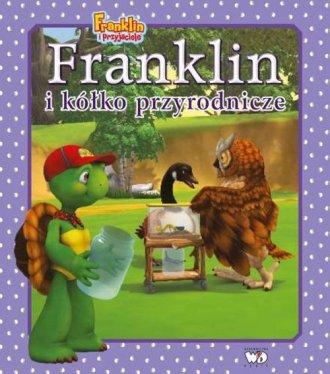 Franklin i kółko przyrodnicze - okładka książki