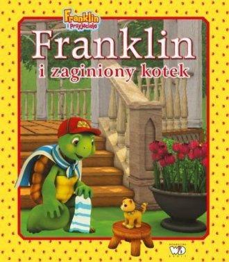 Franklin i zaginiony kotek - okładka książki