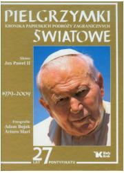 Pielgrzymki Światowe. Kroniki papieskich - okładka książki