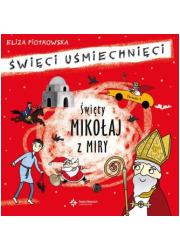 Święty Mikołaj z Miry - okładka książki