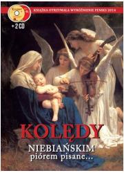 Kolędy niebiańskim piórem pisane - okładka książki