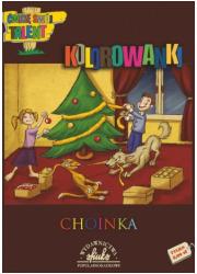 Choinka. Kolorowankaa - okładka książki