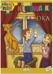 Gwiazdka. Kolorowanka - okładka książki