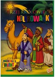 Trzej Królowie. Kolorowanka - okładka książki