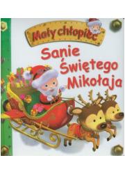 Mały chłopiec. Sanie Świętego Mikołaja - okładka książki