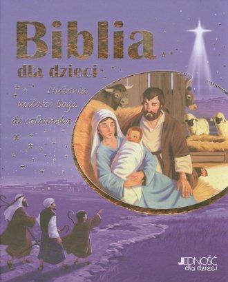 Biblia dla dzieci. Historia miłości - okładka książki