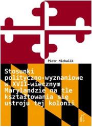 Stosunki polityczno-wyznaniowe - okładka książki