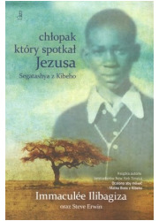 Chłopak który spotkał Jezusa. Segatashya - okładka książki