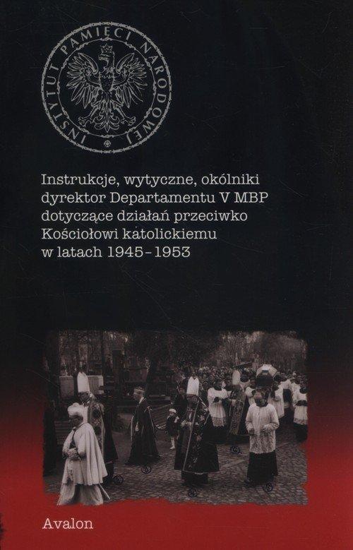 Instrukcje, wytyczne, okólniki - okładka książki