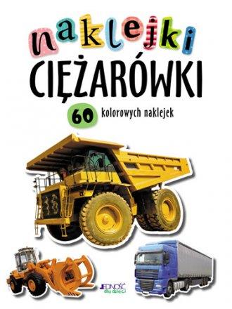 Ciężarówki. Naklejki - okładka książki