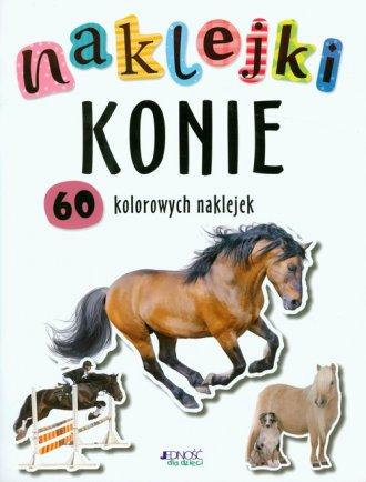 Konie. Naklejki - okładka książki