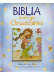 Biblia małego Chrześcijanina (niebieska) - okładka książki
