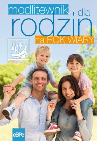 Modlitewnik dla rodzin na rok wiary - okładka książki