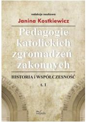 Pedagogie katolickich zgromadzeń - okładka książki