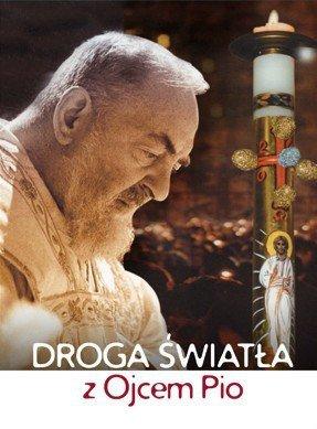 Droga światła z Ojcem Pio - okładka książki