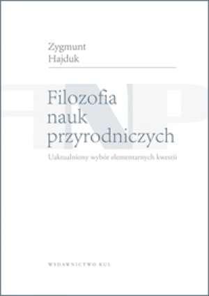 Filozofia nauk przyrodniczych. - okładka książki