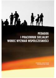 Pedagog i pracownik socjalny wobec - okładka książki