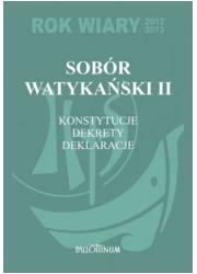 Sobór Watykański II. Kostytucje, - okładka książki