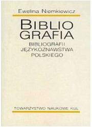Bibliografia bibliografii językoznawstwa - okładka książki