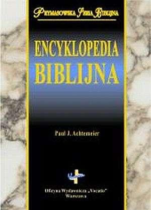 Encyklopedia biblijna. Prymasowska - okładka książki