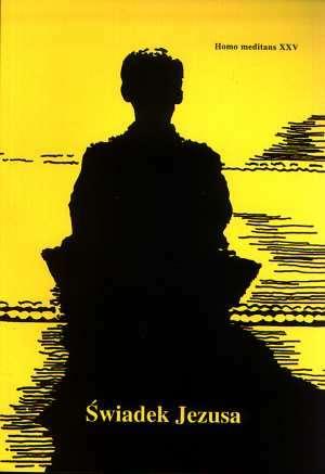 Homo Meditans. Tom XXV. Świadek - okładka książki