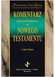 Komentarz historyczno-kulturowy - okładka książki