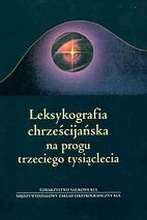 Leksykografia chrześcijańska. Na - okładka książki