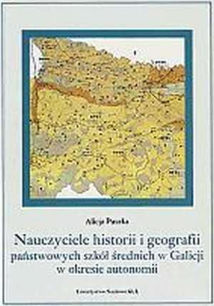 Nauczyciele historii i geografii - okładka książki
