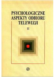 Psychologiczne aspekty odbioru - okładka książki