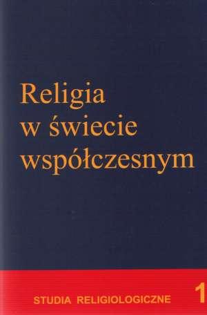 Religia w świecie współczesnym. - okładka książki