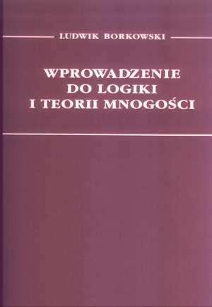 Wprowadzenie do logiki i teorii - okładka książki