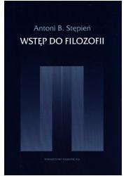 Wstęp do filozofii - okładka książki
