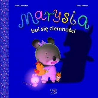 Marysia boi się ciemności - okładka książki