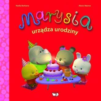 Marysia urządza urodziny - okładka książki