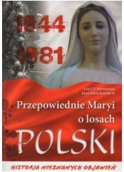 Przepowiednie Maryi o losach Polski. - okładka książki