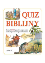 Quiz biblijny - okładka książki
