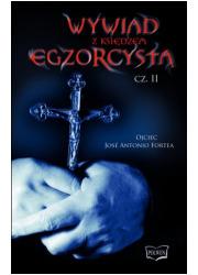 Wywiad z księdzem egzorcystą cz. - okładka książki