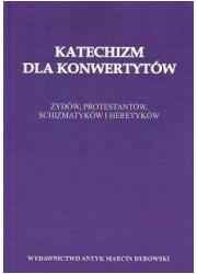 Katechizm dla konwertytów. Żydów, - okładka książki