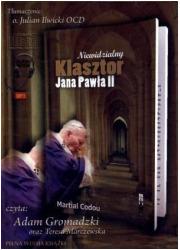 Niewidzialny Klasztor Jana Pawła - pudełko audiobooku