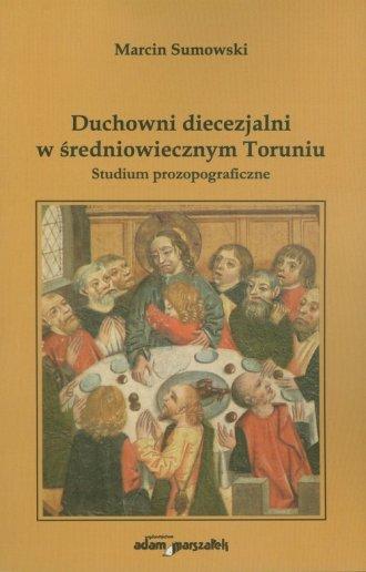 Duchowni diecezjalni w średniowiecznym - okładka książki