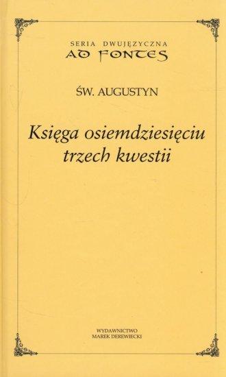 Księga osiemdziesięciu trzech kwestii - okładka książki