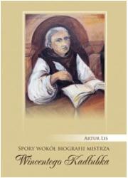 Spory wokół biografii mistrza Wincentego - okładka książki