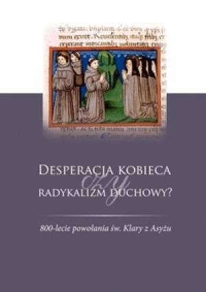 Desperacja kobieca czy radykalizm - okładka książki